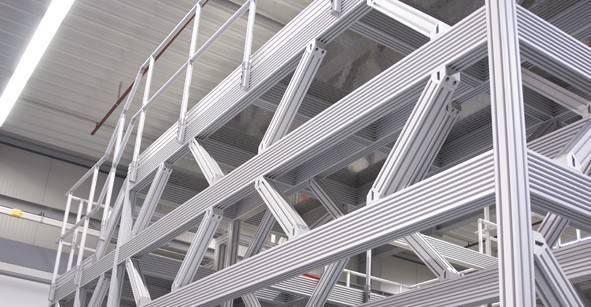 Constructie profiel bordessen en draagconstructies van TechniekSpecialist