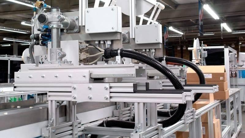 Machineframes van constructie profielen van TechniekSpecialist