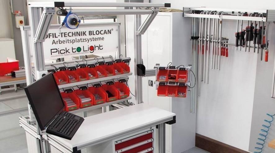 Constructie profiel werktafels van TechniekSpecialist