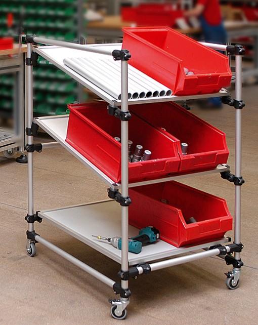 RK Rose+Krieger Light Clamps (kunststof) buisverbinders pickkar