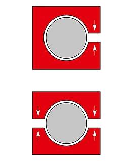RK Rose+Krieger Light Clamps (kunststof) buisverbinders type