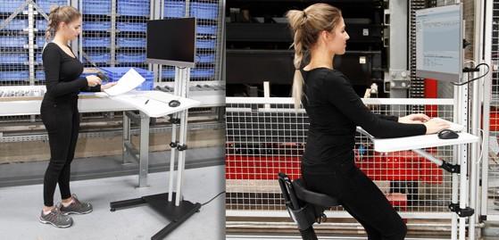 RK Rose+Krieger monitor vloerstandaard