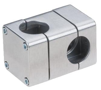 RK Rose+Krieger Solid Clamps (aluminium) buisverbinders blok design