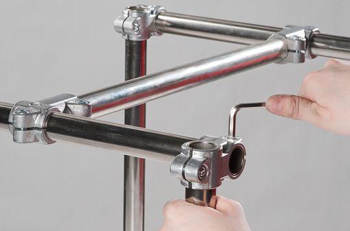 RK Rose+Krieger Solid Clamps (aluminium) buisverbinders