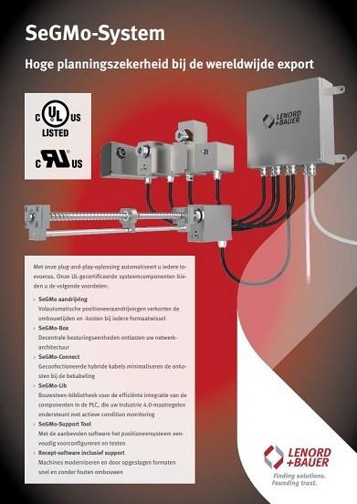 Lenord+Bauer verstelmotoren catalogus