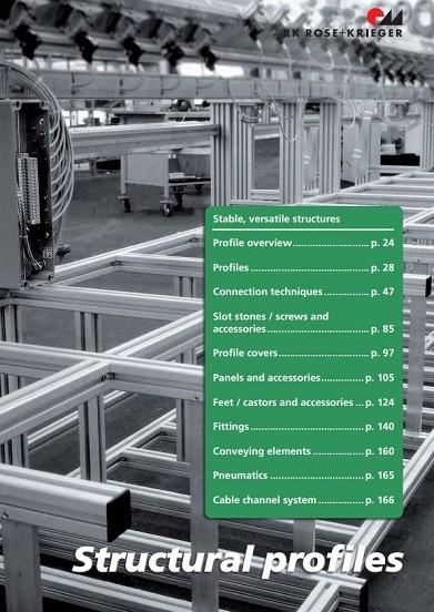 RK Rose+Krieger BLOCAN® constructie profielen catalogus