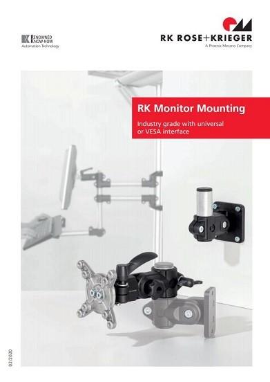RK Rose+Krieger Monitorhoudersysteem catalogus